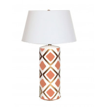 Salmon Haslam Table Lamp | Gracious Style