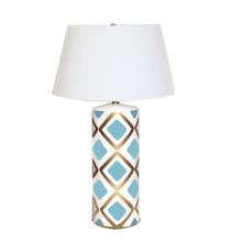 Turquoise Haslam Table Lamp | Gracious Style
