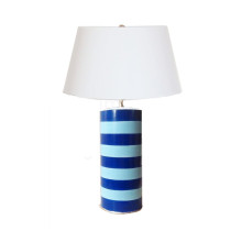 Turquoise Blue Stacked Table Lamp | Gracious Style