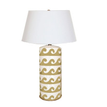 Wave Table Lamp Taupe | Gracious Style