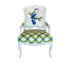 Parrot Chair Blue