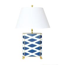 Navy Parthenon Table Lamp | Gracious Style