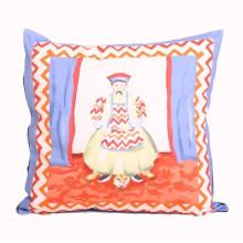 Emperor Pillow Blue | Gracious Style