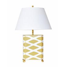 Taupe Parthenon Table Lamp | Gracious Style