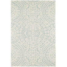 Temple Sky Micro Hooked Wool Rugs | Gracious Style