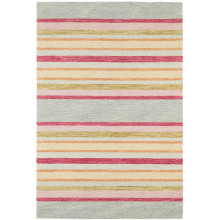 Provence Stripe Micro Hooked Wool Rugs | Gracious Style