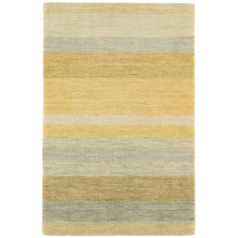 Monaco Stripe Hand Knotted Wool Rugs | Gracious Style