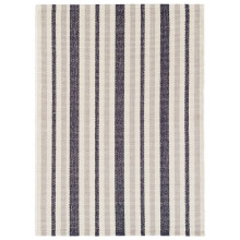 Lyall Stripe Woven Cotton Rugs | Gracious Style