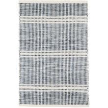 Malta Blue Woven Wool Rugs | Gracious Style