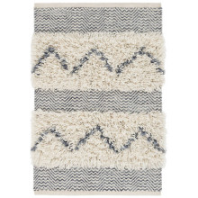 Zags Denim Woven Wool Rugs | Gracious Style
