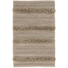 Zhara Stripe Mocha Indoor outdoor Rugs | Gracious Style