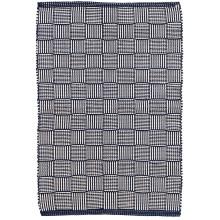Webber Navy Indoor outdoor Rugs | Gracious Style