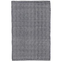Petit Diamond Navy Indoor outdoor Rugs | Gracious Style