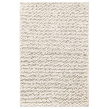 Niels Ivory Woven Wool viscose Rugs | Gracious Style