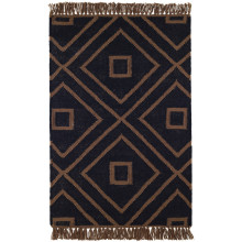 Mali Black Indoor outdoor Rugs | Gracious Style