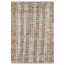 Gridwork Ivory Woven Jute Rugs | Gracious Style