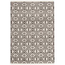 Hopscotch Grey Woven Wool Rugs | Gracious Style