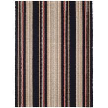 Dakota Stripe Woven Cotton Rugs | Gracious Style
