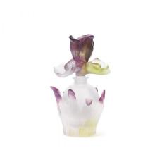 Iris Round Perfume Bottle Height 12 Cm 35 Ml | Gracious Style