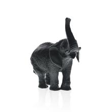Jean-François Leroy Black Elephant J.F Leroy Height 22.5 Cm | Gracious Style