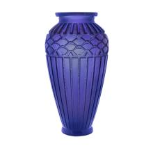 Rhythms Large Blue Vase Height 51 Cm | Gracious Style