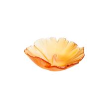 Ginkgo Amber Small Bowl Diam 12 Cm | Gracious Style