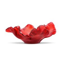 Tulip Red Bowl Diam 30 Cm | Gracious Style