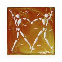 Jerome Mesnager Personalized Love Dance Height 32 Cm | Gracious Style