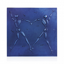 Jerome Mesnager Blue Love Dance Height 32 Cm | Gracious Style
