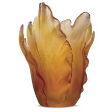 Tulip Amber Vase Height 17 Cm | Gracious Style