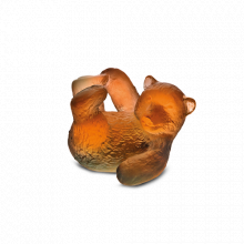 Amber Grey Mini Bear Cub Length 3.5 Cm | Gracious Style