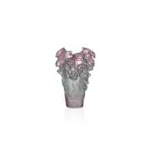 Rose Passion Pink Green Mini Vase Height 7 Cm | Gracious Style