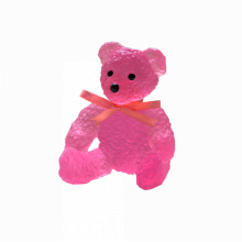 Serge Mansau Candy Pink Doudours Height 15 Cm | Gracious Style