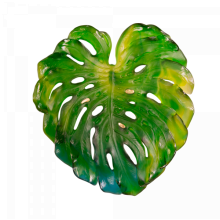 Emilio Robba Monstera Small Green Wall Leaf With Short Fixing Length 33 Cm | Gracious Style