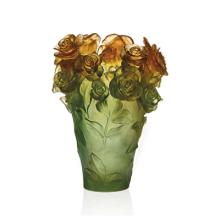 Rose Passion Green & Orange Vase Height 35 Cm | Gracious Style