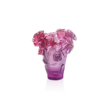 Rose Passion Red & Purple Vase Height 17 Cm | Gracious Style