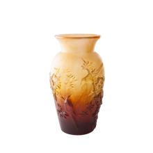 Shogo Kariyazaki Amber Autumn Vase Height 36 Cm | Gracious Style
