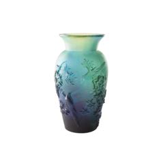 Shogo Kariyazaki Blue Winter Vase Height 36 Cm | Gracious Style