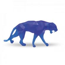 Richard Orlinski Small Blue Wild Panther Length 33 Cm | Gracious Style
