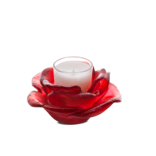 Rose Passion Red Candle Holder Height 6 Cm | Gracious Style