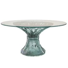Vegetal Grey/Blue 6-Piece Table Height 75 Cm Diam 100 Cm | Gracious Style