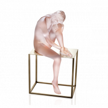 Alain Choisnet Pink Louison Height 44.5 Cm | Gracious Style