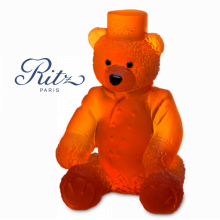 Small Amber Ritz Paris Teddy Height 13.5 Cm | Gracious Style