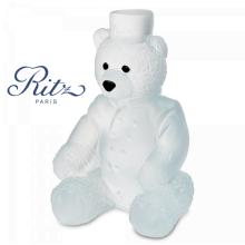 Small White Ritz Paris Teddy Height 13.5 Cm | Gracious Style