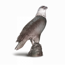 Small Grey Eagle Height 15 Cm | Gracious Style