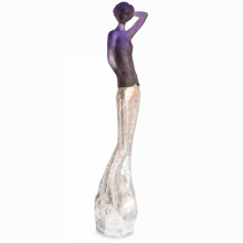 Jean-Philippe Richard Grey Purple & Silver Ines Height 140 Cm | Gracious Style