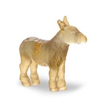 Grey Amber Mini Donkey Height 6 Cm | Gracious Style