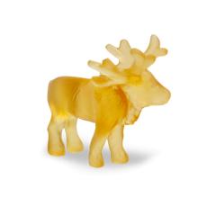 Light Amber Mini-Reindeer Height 6 Cm | Gracious Style