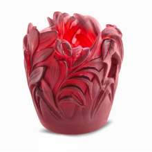 Jungle Red Small Jungle Vase Height 13.5 Cm | Gracious Style
