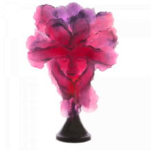 Georges Saulterre Red Purple Panoptes Height 83 Cm | Gracious Style